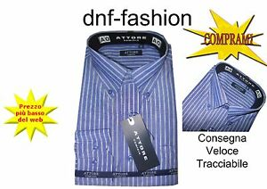 Camicia-classica-uomo-Attore-manica-lunga-collo-Button-down-art-085