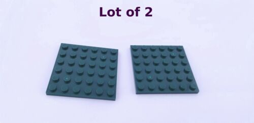 Lego 6x6 Plate Black Blue Yellow White Red Brown Gray Green Tan Lime YOU CHOOSE