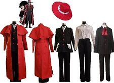 Hellsing Alucard Cosplay Costume Set Vampire Hunter New