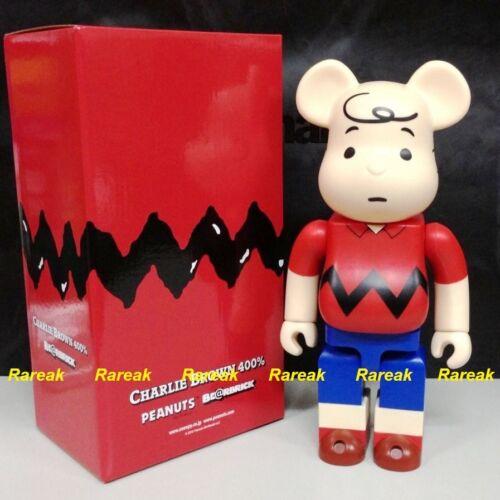 Medicom Be@rbrick 2015 The Peanuts Comic Snoopy 400/% Charlie Brown Bearbrick 1p