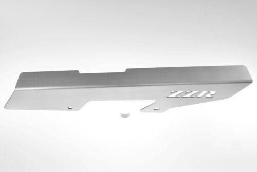 ZZR 600 ZZR600 ZZR6 05-08 BRUSHED SILVER REAR CHAIN GUARD SWINGARM COVER 202ZZR
