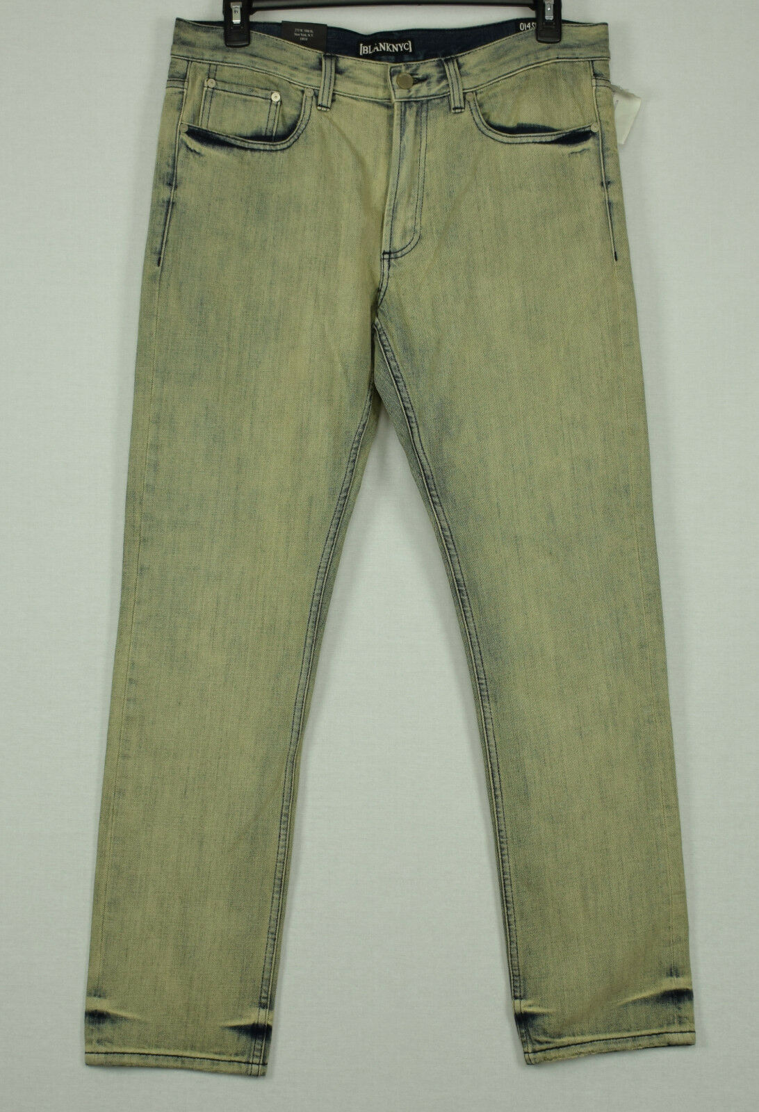 BLANK NYC Mens Whip It Slim Straight Fit Jeans 36X32