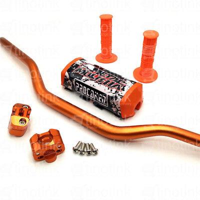 "Pro Caken1-1//8/"" 28mm Handlebar Kit Metal Mulisha Pad Clamps and Grips"