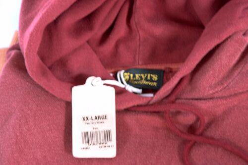 Xxl E e Levis Vintage Big Felpa Clothing cappuccio con 1950 cappuccio RwAvqawn8