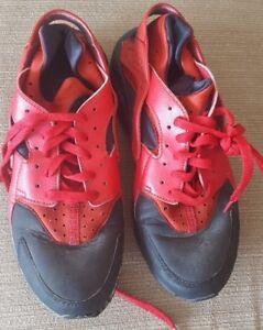 Homme Nike Air Huarache Rouge Taille 9 Réduit-afficher Le Titre D'origine