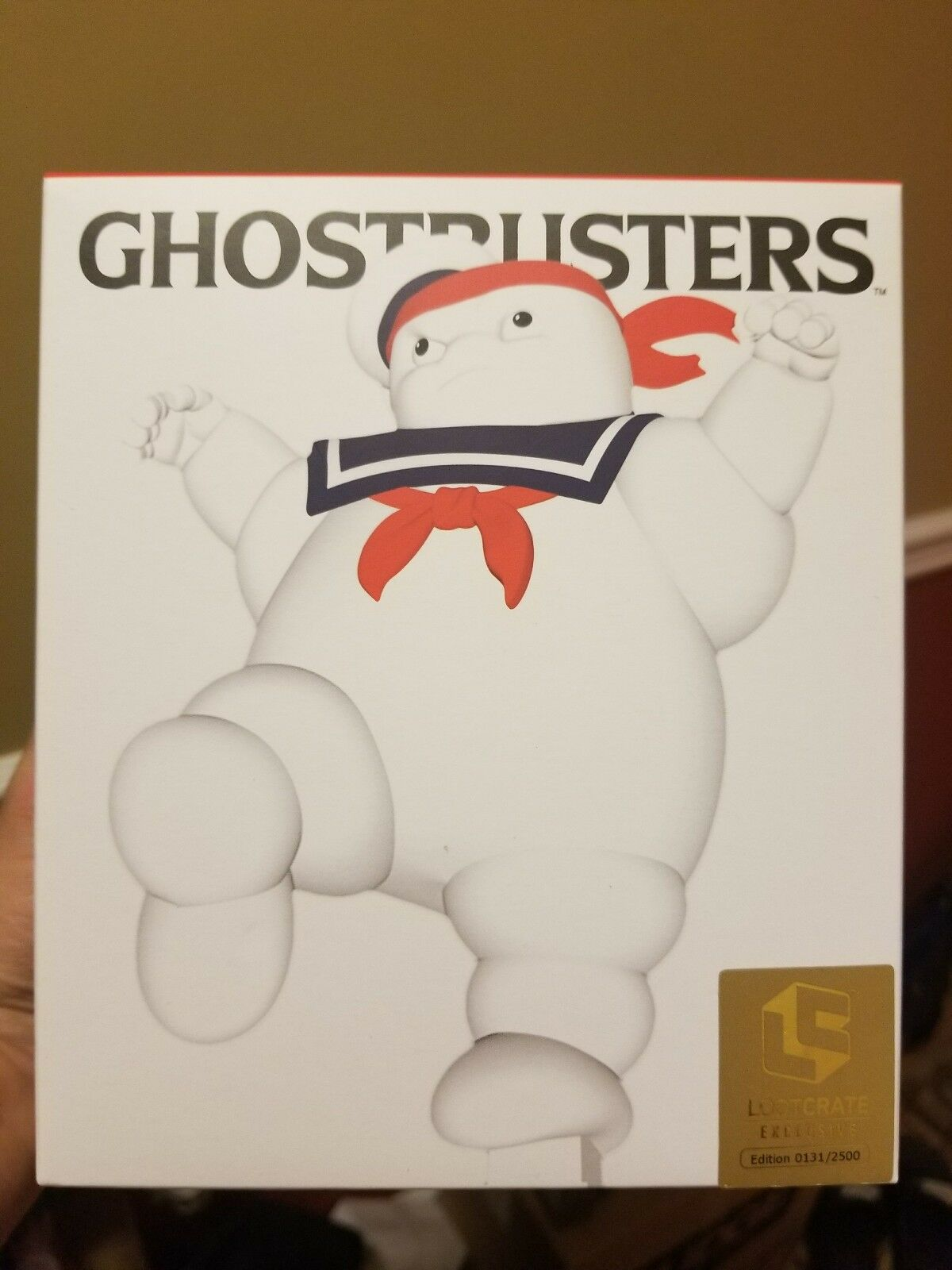"""NYCC 2017 exclusive Ghostbusters """"Karate Puft"""" Figure Glitter Variant LOOTCRATE"""