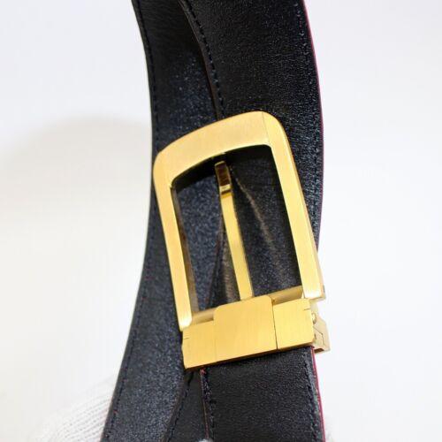 Mens Belt Genuine Crocodile Alligator Skin Leather Belt Handmade Red #SB3009