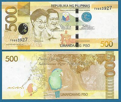 Philippines 500 Piso 2009 P 204 UNC Commemorative 60 Central Bank Low Shipping