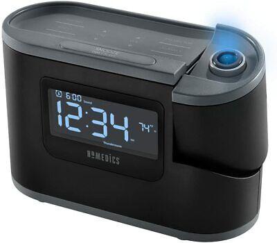 Homedics Recharged Alarm Clock & Sound Machine, Black ...