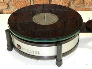 Systemdek II Vintage Hi Fi trennt verwendet Record Vinyl Deck Player Plattenspieler
