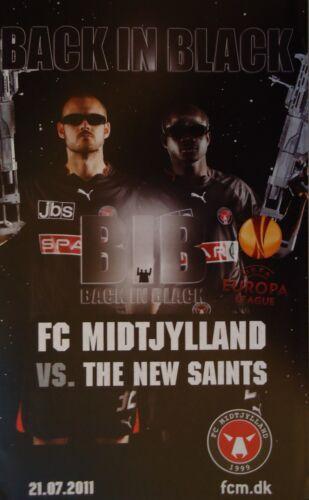 The New Saints Programm UEFA EL 2011//12 FC Midtjylland