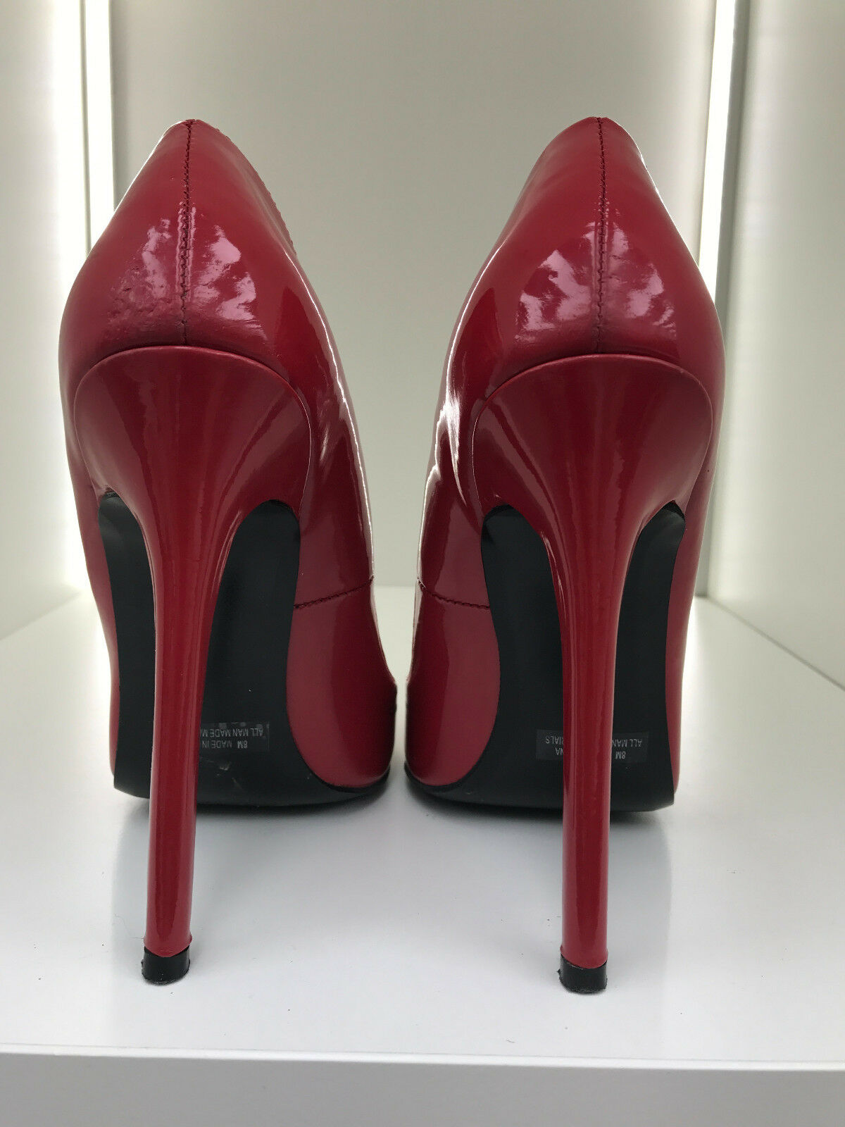 14cm Sexy sky high heels patent rot rot rot rot pumps Hottie fetish high heels 38 US8 a8dbb7