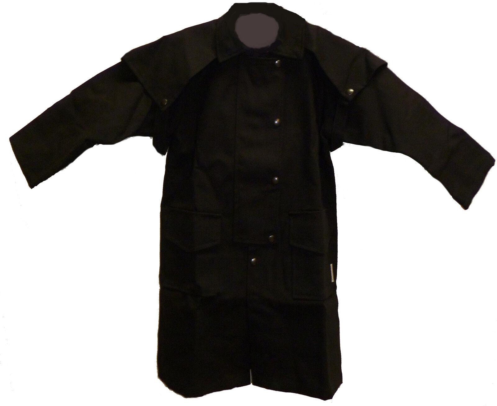 NEW CHILD'S CAPED COAT COWBOY DUSTER SADDLE COAT CAPED 9f06d1
