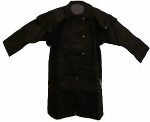NEW CHILD'S CAPED COWBOY DUSTER SADDLE COAT