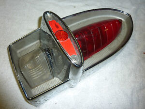 1960 Rambler Ambassador Tail Light Lens AMTSO