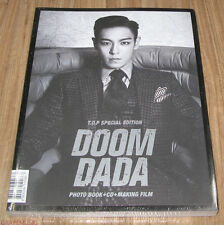 T.O.P TOP BIGBANG DOOM DADA Special Edition PHOTO BOOK + CD + MAKING FILM NEW