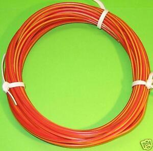 KFZ Kabel Litze Leitung FLRy 1,5mm² 10m Rot / Gelb Baumaschienen