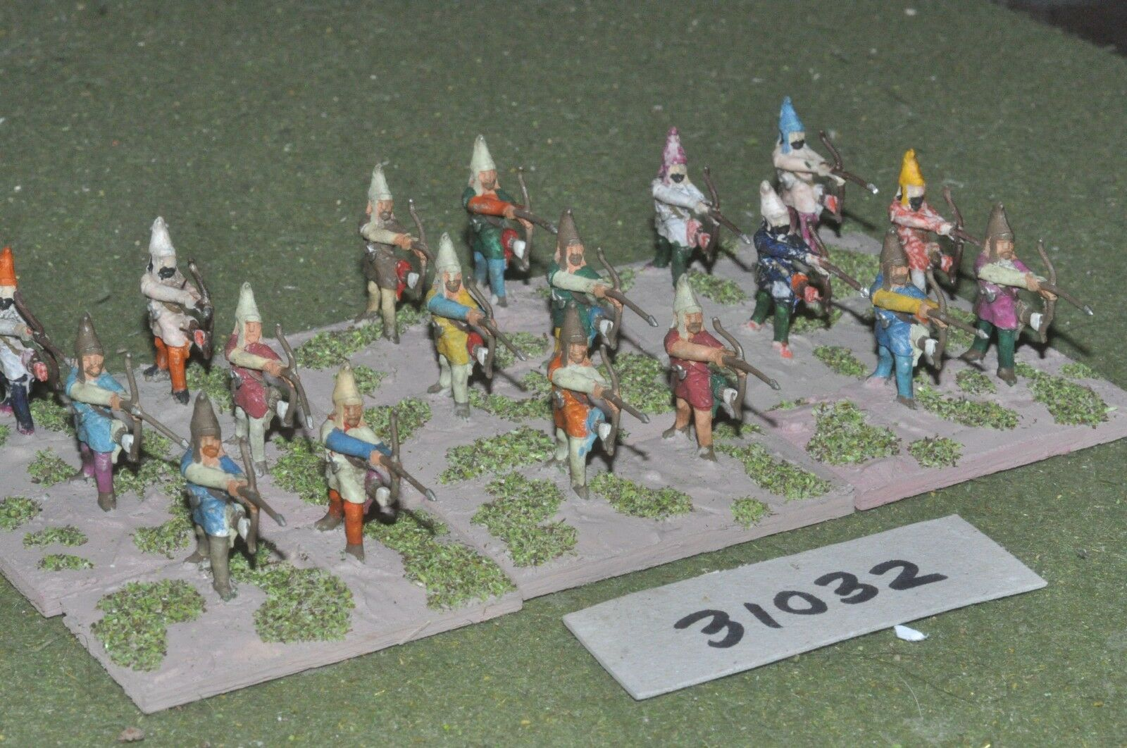 25mm classical   persian - archers 18 figures - inf (31032)