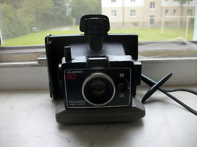 Kenntnisreich Polaroid Colorpack 82 Sofortbildkamera - Wurde 1969-1971 Produziert Elegant Im Geruch