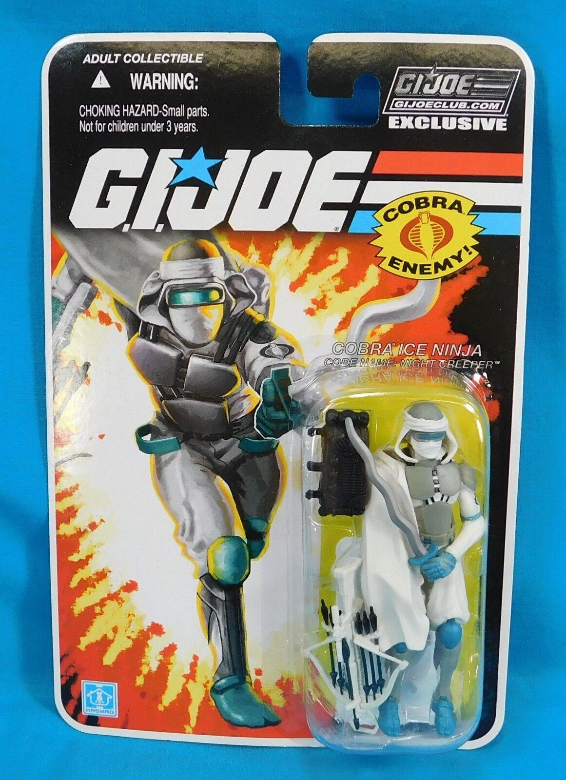 2015 Hasbro G.I Joe Club Exclusive Night Creeper New on Card