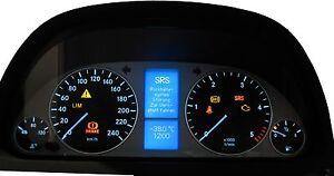 Mercedes-Benz-B-Klasse-W245-Display-defekt-Tacho-Kombiinstrument-Reparatur