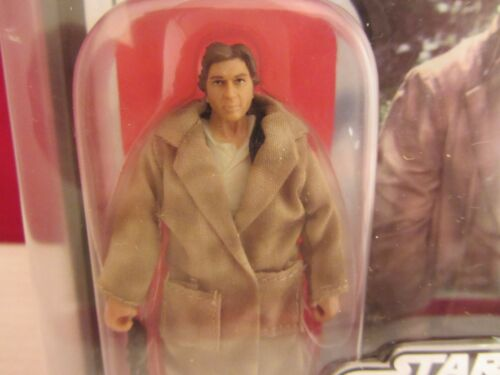 STAR WARS THE SAGA COLLECTION-Han Solo in Trench coat neuf sur carte 87062 916DJ53