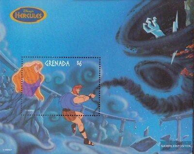 Alert Granada Block491 (completa Edición) Nuevo Con Goma Original 1998 Walt-disney-zei