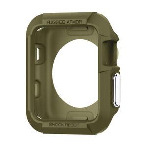 Apple-Watch-Series-3-2-1-38-42mm-Spigen-Rugged-Armor-Shockproof-Case-Cover