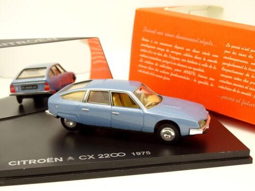 Norev 1//43 Citroen CX 2200 1975 Bleue