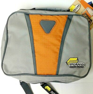 Plano Guide Series Fishing Worm Storage Wrap Binder with 8 Plastic Bags