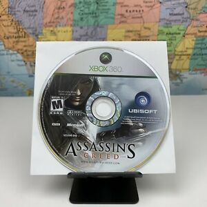 SHIPS SAME DAY Xbox 360 Assassin's Creed Disc Only Tested Ubisoft Open World