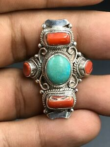 Silver ring from Afghanistan #16.