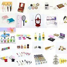 1:12 Dollhouse Play Scene Miniature Resin Alloy Plastic Mini Decor Kids Gift