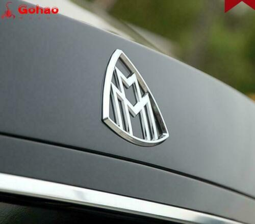 Seto of 8pcs Mercedes-Maybach S-Class Hood Standing Fender Rear Badges V12 W222