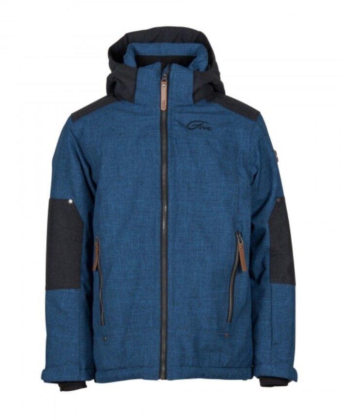 Five Seasons Max Jacket Kids  Gefütterte Winter- Skijacke für Kinder   blau