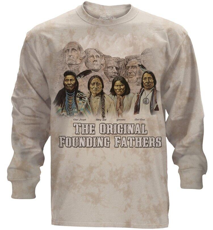 The Mountain Adult The Originals Native Longsleeve T Shirt