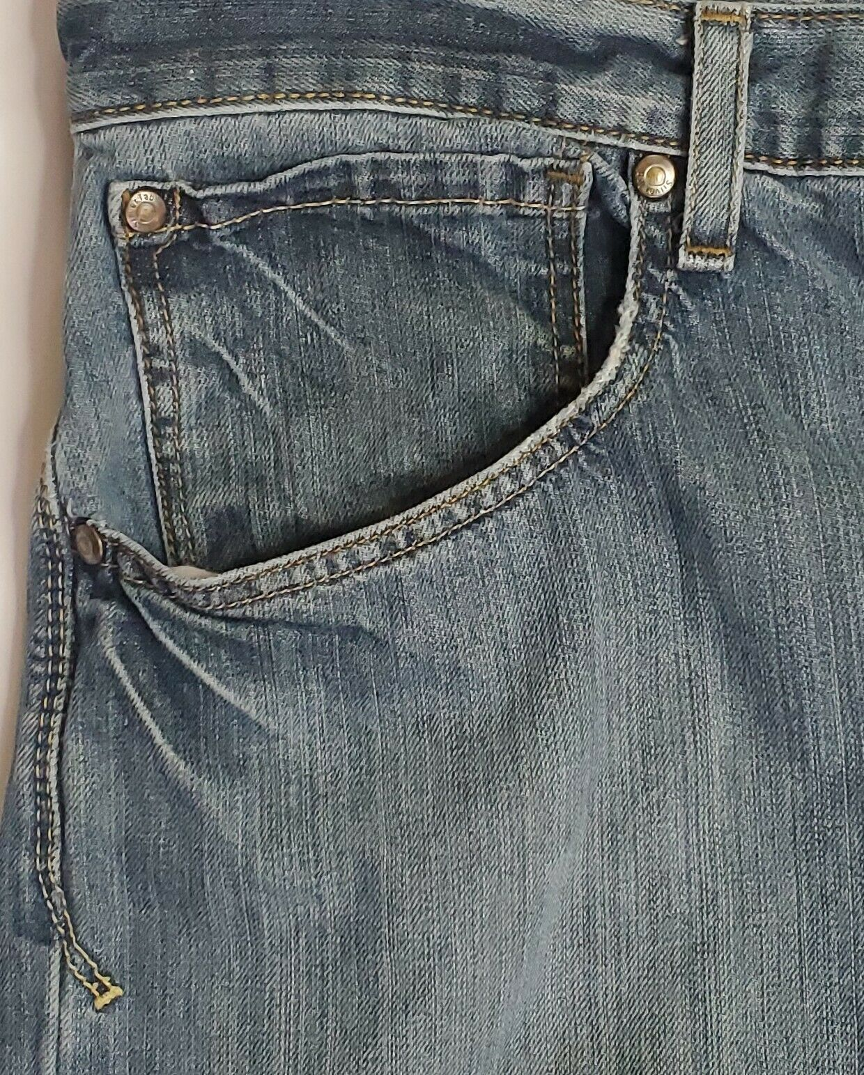 Vintage Levis Silvertab Baggy Straight Jeans 36x3… - image 4