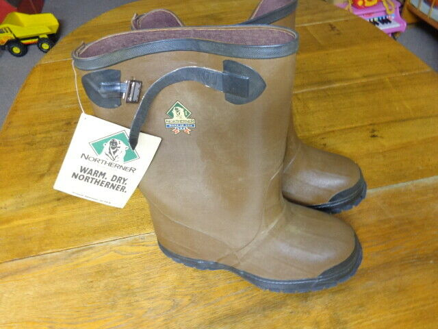 Northerner Rubber Boots Men's Sizes 9 NWT