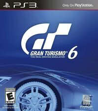 Gran Turismo 6 [PlayStation 3 PS3, Car Racing Driving Simulation Realism] NEW