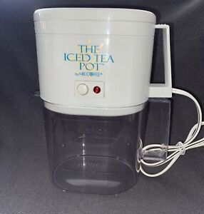 The Iced Tea Pot By Mr Coffee Model TM4 Electric Brewer ...