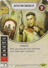x1 Outer Rim Smuggler 46 Rare Star Wars Destiny Spirit of Rebellion M/NM