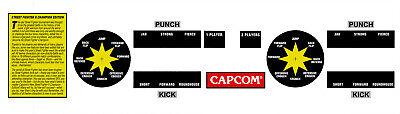 Street Fighter 2 Champion Edition Arcade Cpo Button Joystick