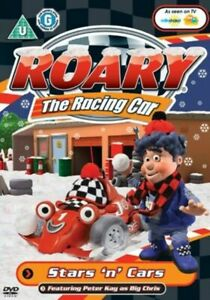 Roary-the-Racing-Car-Stars-and-Cars-DVD-2008-Peter-Kay-New