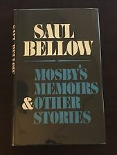 Mosby's Memoirs and Other Stories - Saul Bellow (SIGNED)