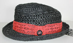 6fe4239cf38 Very Cool Women s Volcom Surf Fedora Straw Hat. Size M-L. NWOT. RRP ...