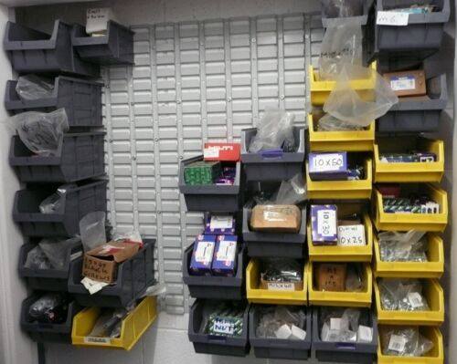 Small Boxes NEW! 10 x  Plastic Parts Bins size 4 Stackable
