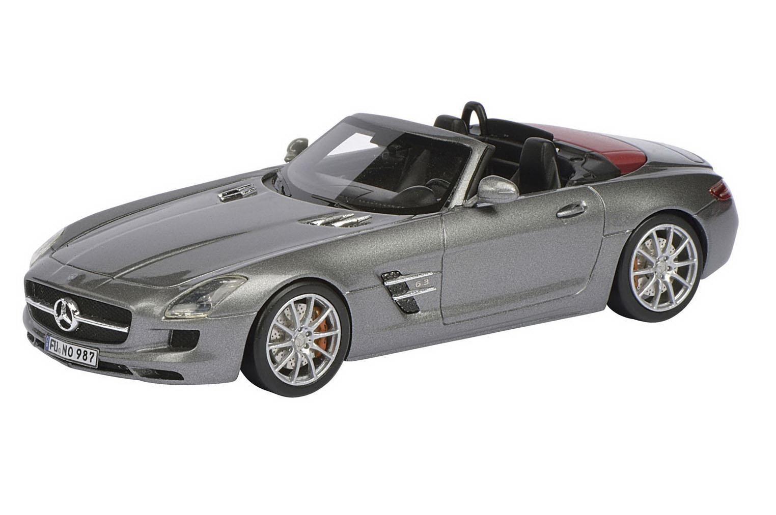 SCHUCO Mercedes-Benz SLS AMG  Roadster Monza gris 1 43 Dealer Nice  réductions incroyables