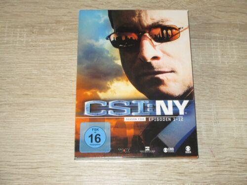 1 von 1 - CSI NY - Season 5 / Box 1 (2010) Serie 3 DVD Box