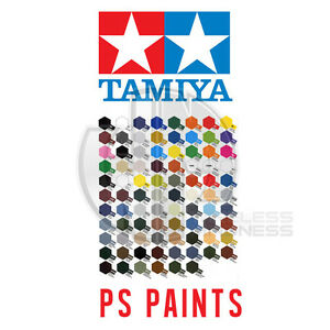 Tamiya-PS-1-to-PS-63-100ml-Polycarbonate-Lexan-PS-RC-Car-Model-Spray-Paint