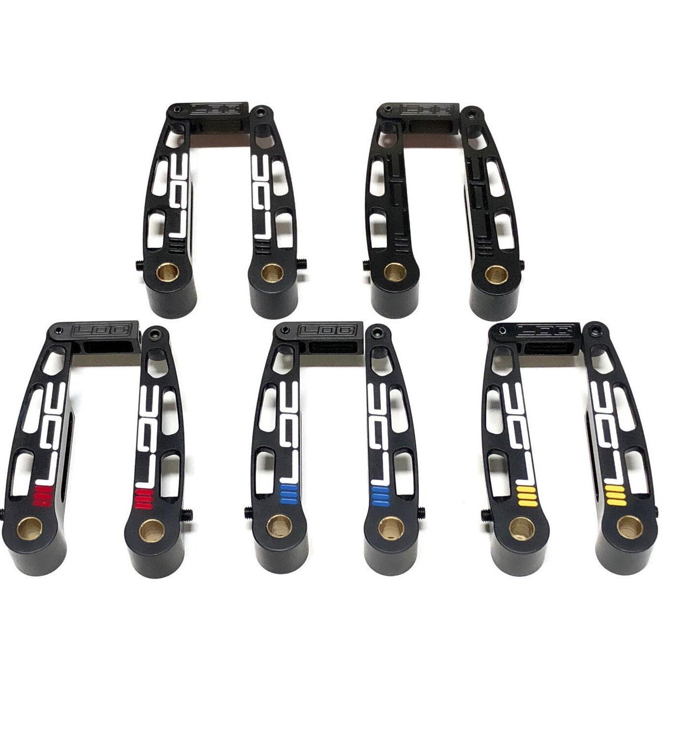 LDC BMX MINI V-BRAKES with 1.5  of pad adjustment for BMX Racing